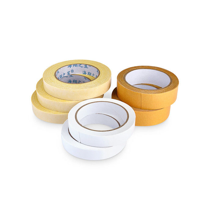 High Viscosity Two Sided Carpet Edging Tape / Joint Tape For Special Packaging Suitcase