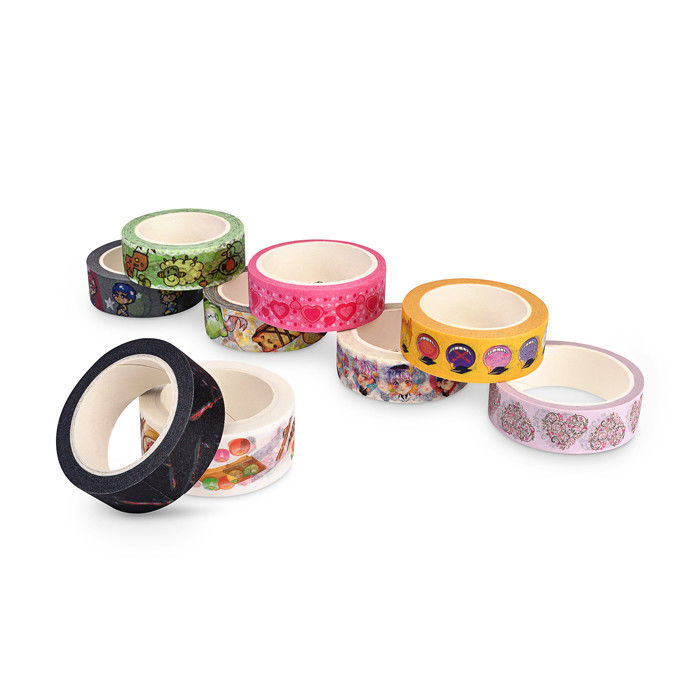Reusable Coloured Decorative Masking Tape No Residue Christmas Decoration