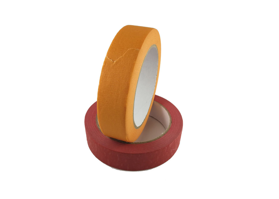 "1"" X 60yd Colored Masking Tape / High Adhesion Colored Packing Tape Crepe Paper"