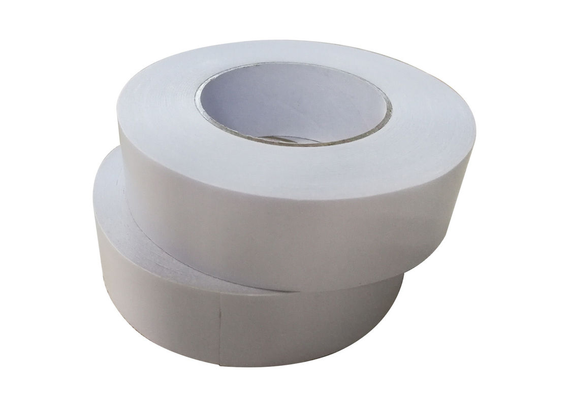 White Double Coated Acrylic Adhesive Splicing Tape For Bonding Paper