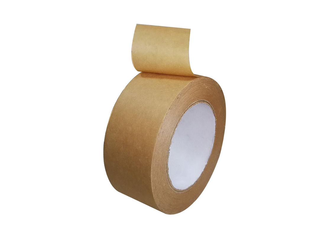 2 Inch x 60 Yards Ultra - Sticky Kraft Packaging Tape For Sealing Cartons