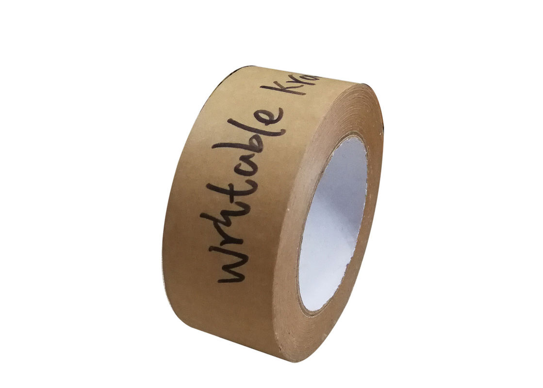 Writable Kraft Flatback Paper Tape For Writing And Markings On Reused Boxes