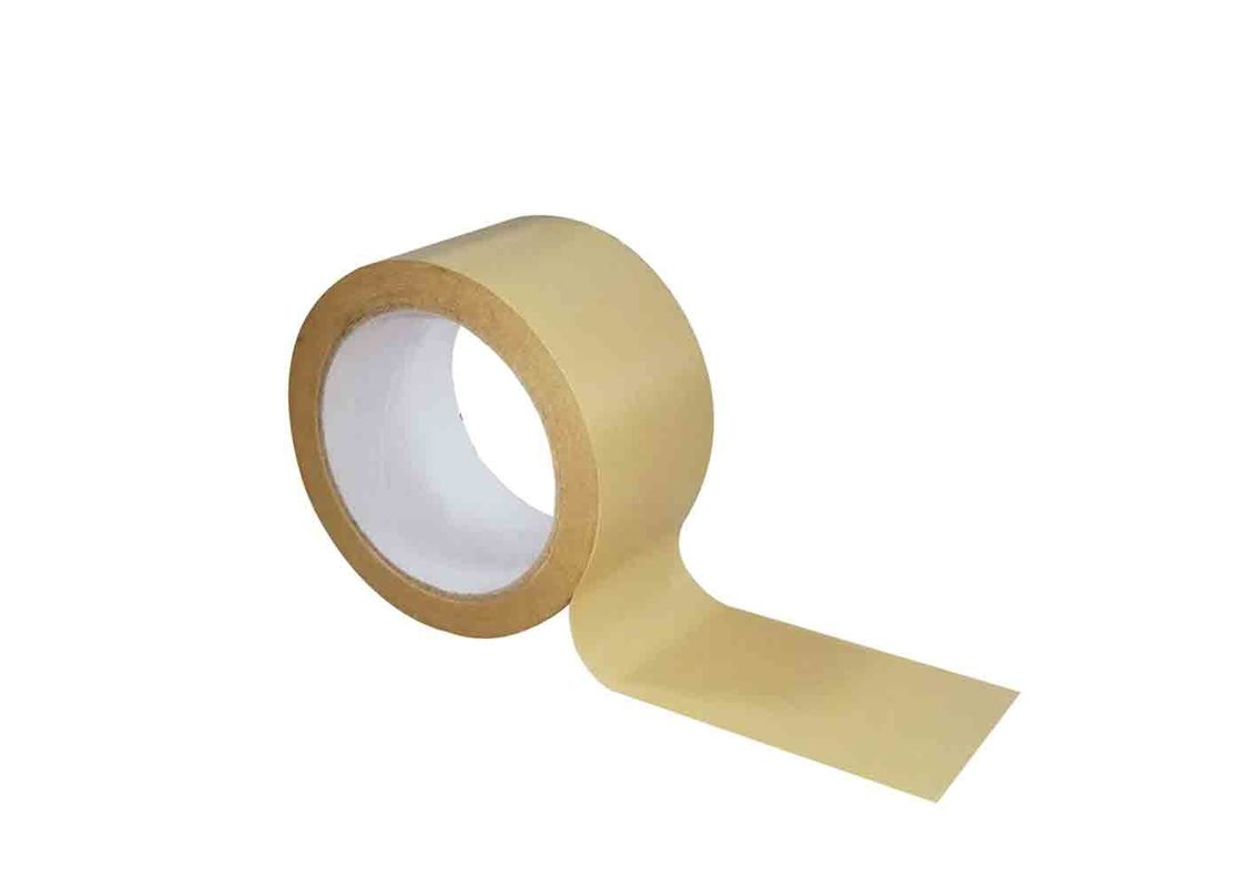 Non Toxic Gummed Brown Paper Tape Recyclable Biodegradable Repulpable