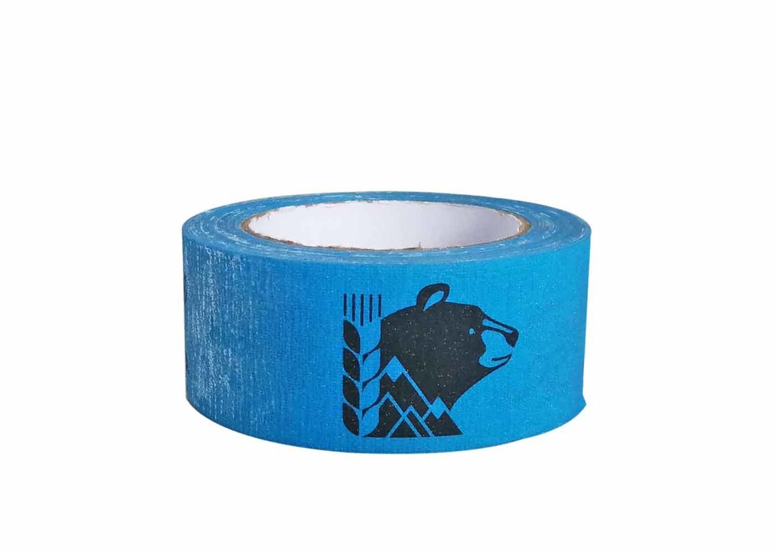 Patterned Colored Cloth Duct Tape Custom Printed Single Sided Adhesive